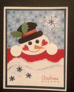 Jake's Christmas card - 2012     Punch art