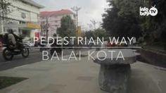 Jalur Pedestrian Balai Kota Bandung