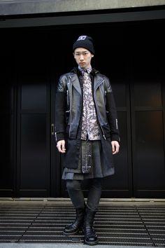 Real men wear skirts【STREET SNAP】YUYA | CANDY | ストリートスナップ | 渋谷(東京)|