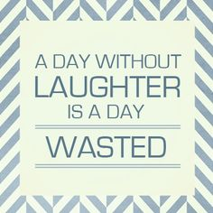 Laugh! Sense of humor, required.  More laughing, less stressing.