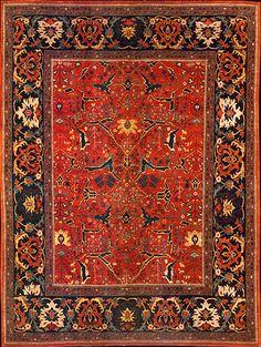 ORIENTAL CARPETS | Persian Bidjar Rug #32014 at Emmett Eiland's Oriental Rugs