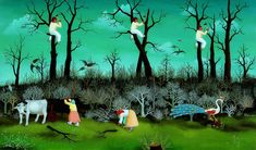 Ivan Generalic The Woodcutters