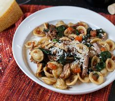 Cabernet Braised Short Ribs With Swiss Chard And Orecchiette Recipes ...