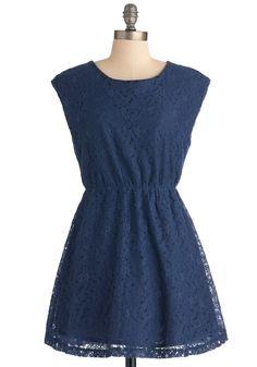 Will Blue Be Mine? Dress | Mod Retro Vintage Dresses | ModCloth.com