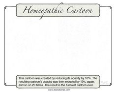 Homeopathic Cartoon