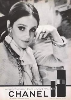 Advertising 1970  advertising#Chanel#beauty