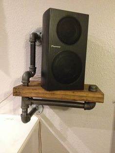Speaker stand made by husband and me. Speaker stand made by husband and me.