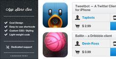 App Store Box - Fancy reviews maker for WordPress