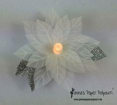 jpp - Poinsettia Tea Light 7