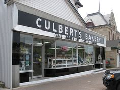 Culbert's Bakery in Goderich, ON is now carrying the Honey Almond Brunch Bar in both Original and Dark Chocolate flavours! Open Tues - Sat (open Mondays too in July and Aug only). Huron County, Tasty Pastry, Brunch Bar, Creme Puff, Best Bakery, Honey Almonds, Delicious Donuts, Chocolate Flavors, My Happy Place