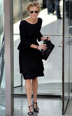 Meg Ryan, Tom Hanks, Meryl Streep Attend Nora Ephron Memorial Service  Meg Ryan