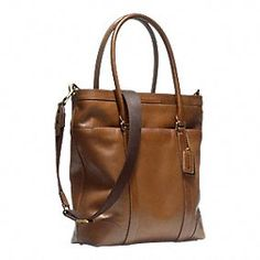 BLEECKER LEATHER TOTE