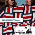 Stitch Mountain :: Free Snowboarder's Throw Crochet Pattern at Jimmy Beans Wool Crochet Afgans, Diy Crochet, Crochet Hooks, Crochet Blankets, Crochet Throw Pattern, Crochet Stitches, Crochet Patterns, Crochet Stars, Holiday Crochet