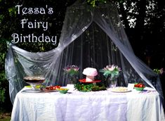 Fairy birthday ideas