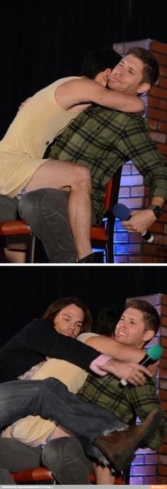 Jensen's face haha
