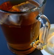 Rooibos and Ginger Iced Tea - Sarah Graham Food Ginger Iced Tea Recipe, Iced Tea Recipes, Ginger Tea, Refreshing Drinks, Cold Drinks, Beverages, Sarah Graham, Juice Smoothie, Smoothies