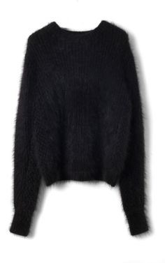 Fuzzy Angora Sweater Bubble Stitch Pullover by 3.1 Phillip Lim