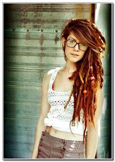 I love this girls dreads