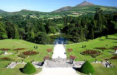 Powerscourt gardens, Co Wicklow, Ireland