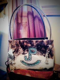 Purse made by Holy Cow Couture