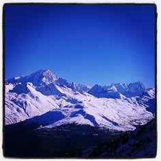 morning ski touring via Arc'athlete Thibaud Duchosal