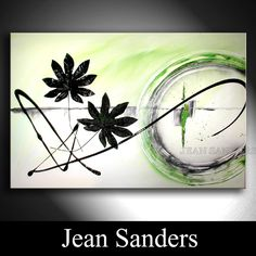 "Jean Sanders  ""Frühlingsbrise""  120 x 80 cm  Material:  Acrylfarben, Schlussfirnis"