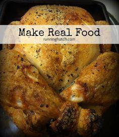 Make Real Food: RunningHutch.com