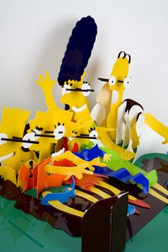 Anamorfose... b)  Simpsons. Paris... James Hopkins
