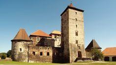 Hrad Švihov z nádvoří