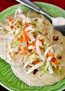Recipe For  Salvadoran Pupusas con Curtido
