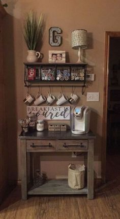 Coffee Bar Ideas For Small Kitchen kitchen coffee bar ideas. kitchen coffee bar ideas medium size of alluring coffee bar kitchen small ideas kitchen coffee bar. home Coffee Station DIY coffee… - Style Of Coffee Bar In Kitchen Coffee Station Kitchen, Coffee Bars In Kitchen, Coffee Bar Home, Home Coffee Stations, Coffee Coffee, Coffee Shops, Ninja Coffee, Coffee Dripper, Coffee Gifts