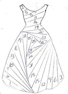 Robe en irish folding                                                                                                                                                                                 Plus
