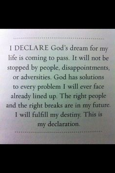 Message Quotes, My Destiny, Disappointment, My Life, Messages, God, Scriptures, Verses