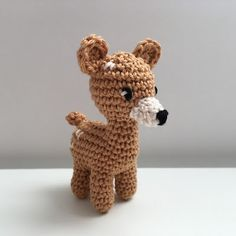 Ms. Eni - Reh häkeln Anleitung    crochet pattern deer, amigurumi