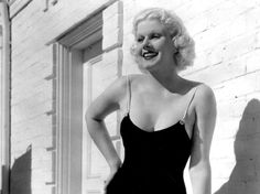 """""""Underwear makes me uncomfortable and besides my parts have to breathe."""" Jean Harlow"""