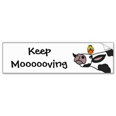 Cute Lil Cow Bumper Sticker Cow Pinterest Cow And Gift