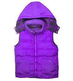 Reversible Purple Vest