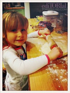 Tori Spelling's Shabbat Dinner; getting your kids in the kitchen is so important. My girls love to help with everything from picking what's for dinner to making it, Happy cooking!