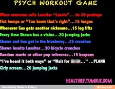Psych workout