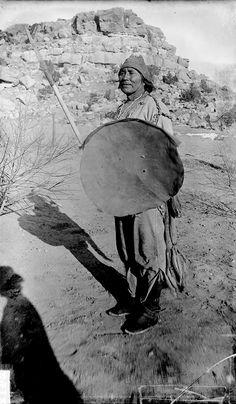 """""""Old Warrior"""", Navajo - Mooney - 1893"""