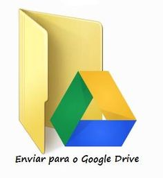 Envie arquivos para o Google Drive, com apenas um clique!