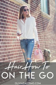 A busy schedule shouldn't mean messy hair.