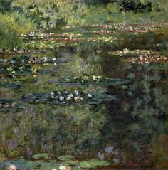 Claude Monet - Pool with Waterlilies, 1904 - art prints and posters