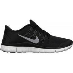 innovative design 05c4c c7845 Nike Free 5.0+ Zapatillas de running - mujer Negro  Plata Metalizado   Blanco
