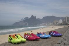 adidas Launches Vibrant Samba Collection for 2014 FIFA World Cup Brazil Campaign