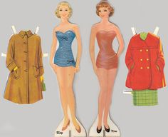 Paper Dolls of the 1950's