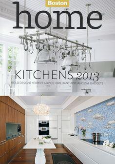 #Arclinea kitchen design, a collaboration between Casa Design and Studio M, was featured in Boston Magazine.