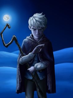 Jack Frost by Starwarrior4ever.deviantart.com on @DeviantArt