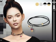 MFS Charms Necklace at Missfortune Sims via Sims 4 Updates