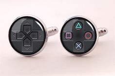 Playstation Cufflinks,Photo Cufflinks,Groomsmen Wedding Cufflinks